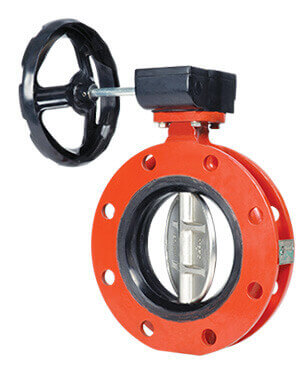 Centric Disc Butterfly Valves Manufacturer