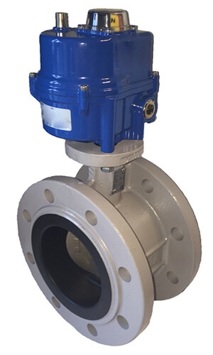 Double Flanged Butterfly Valve in USA