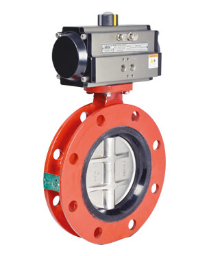 Pneumatic Butterfly Valves Manufacture in USA
