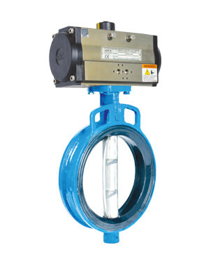 Pneumatic Butterfly Valves Manufacturer